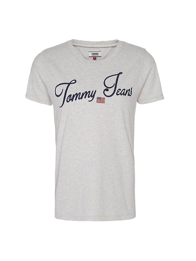 Tommy Jeans women Modern logo T-Shirt Grey