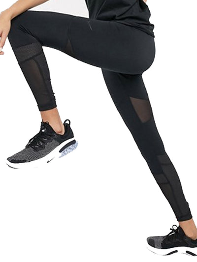 Nike Pro women training mesh Leggings Black