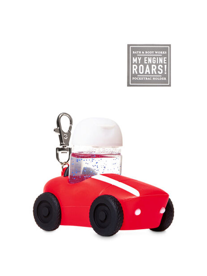 Bath and Body works PocketBac Holder Noise-Making Race Car