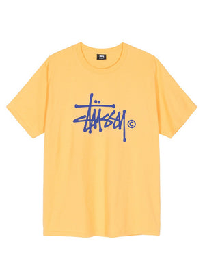 Stussy women Basic Logo Tee Orange