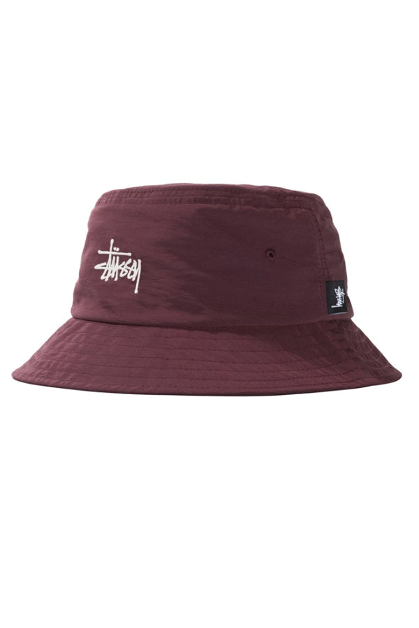 Stussy reversible Bucket Hat Berry