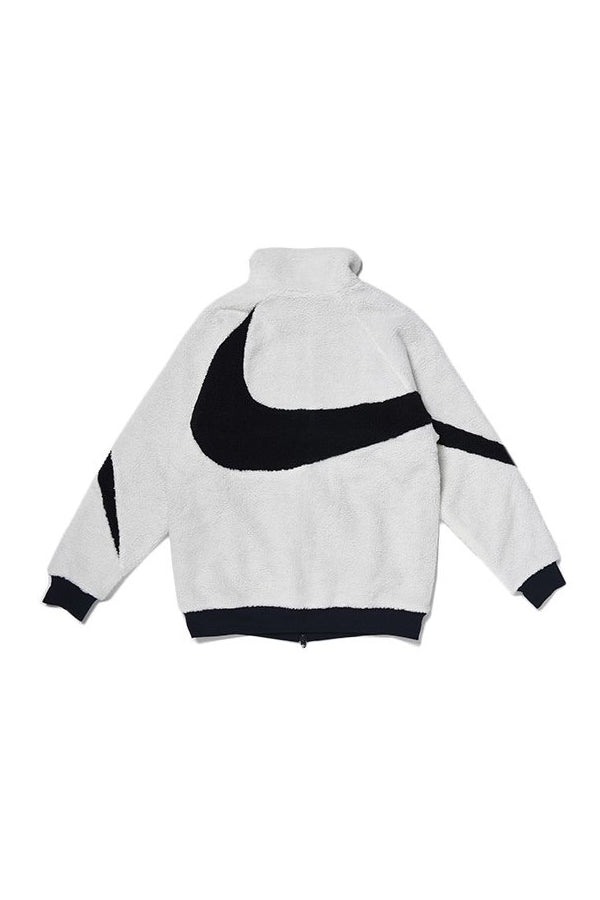 Nike unisex full zip swoosh Jacket White/Black