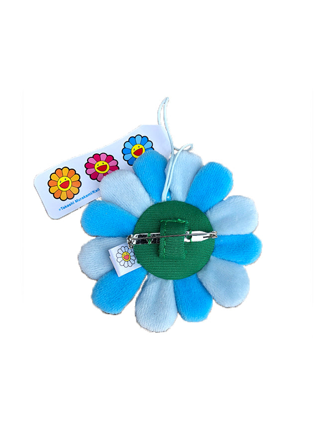 村上隆 Takashi Murakami Flower Plush Pin Light Blue