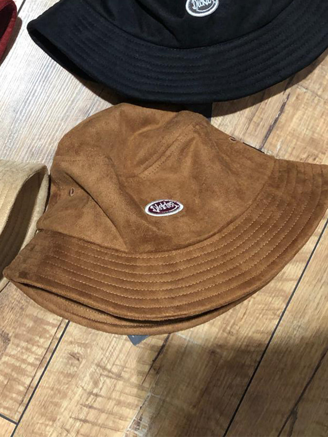 Dickies logo bucket Hat Brown