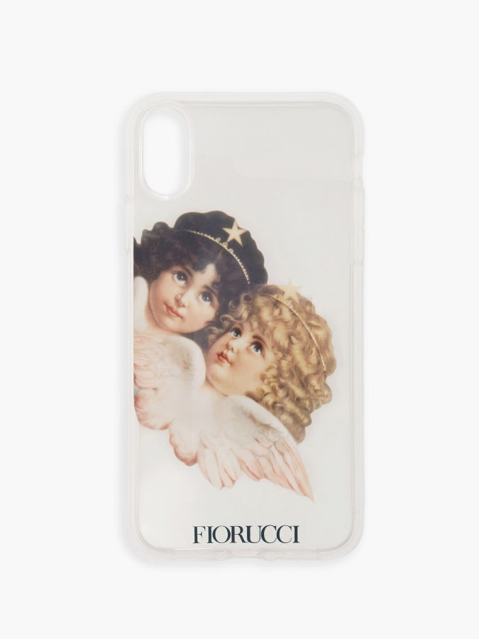 Fiorucci Angels Transparent iPhone Case