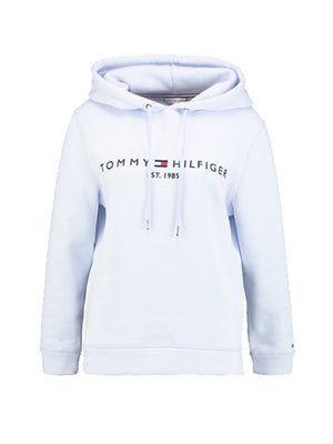 Tommy hilfiger women essentials Hoodie Cotton Blue
