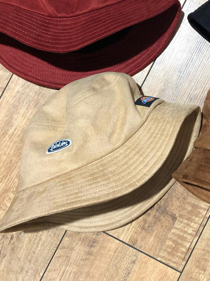 Dickies logo bucket Hat Tan