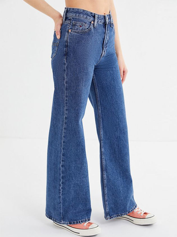 Tommy Jeans women High-Rise Flare Jean Indigo