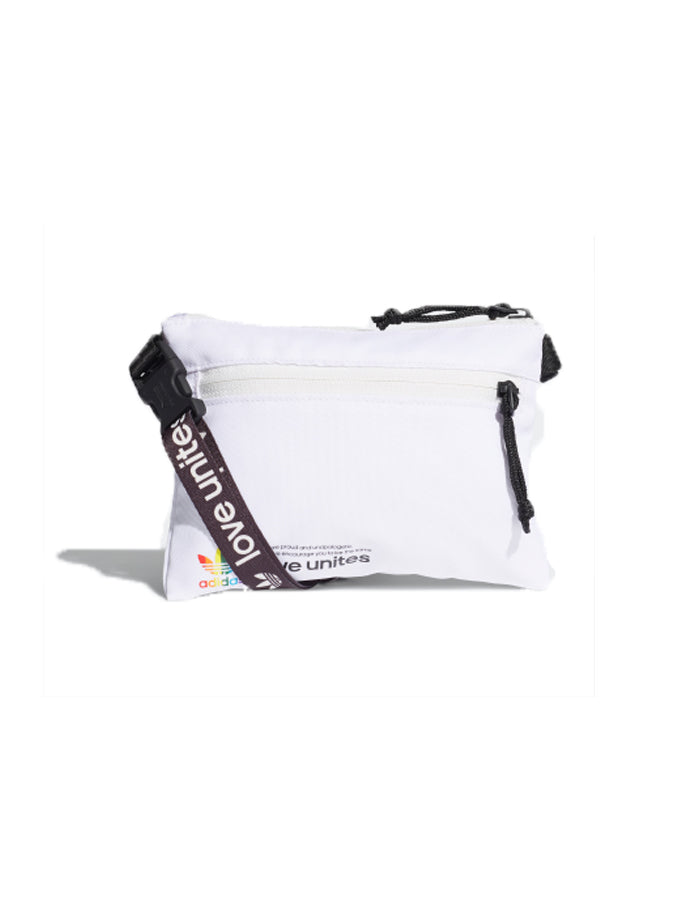 Adidas Originals pride pouch White