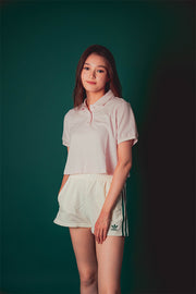 Adidas Originals women Tennis cropped Polo Pink