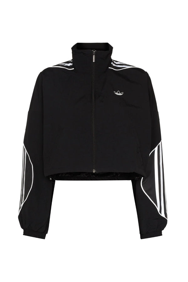 Adidas Originals women reflection cropped Jacket Black