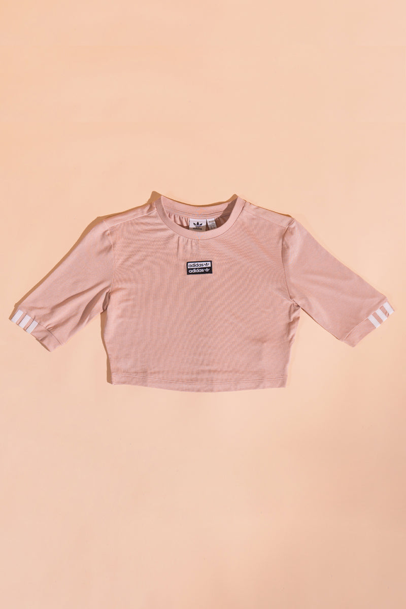 Adidas Originals women RYV cropped T-Shirt Lite Pink