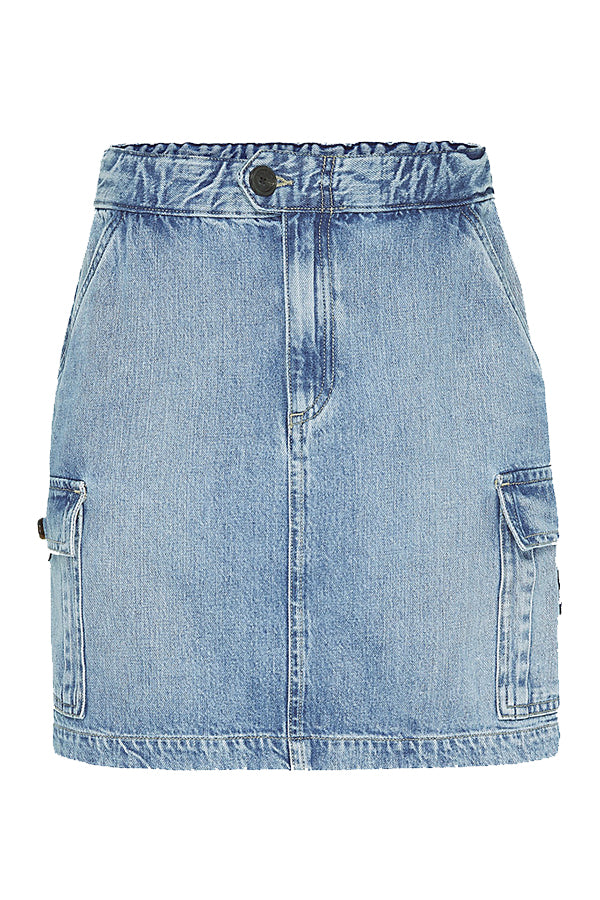 Tommy Jeans women Denim Cargo Mini Skirt