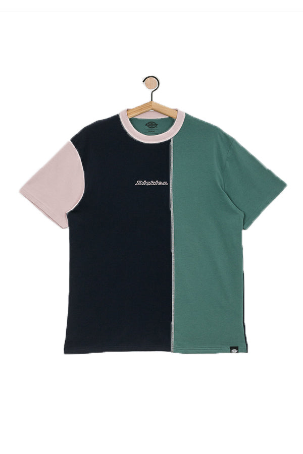 Dickies Keysville T Shirt Dark Blue/Green