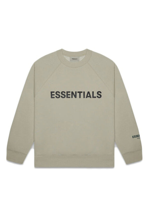 Essentials FOG front logo Sweatshirt Charcoal