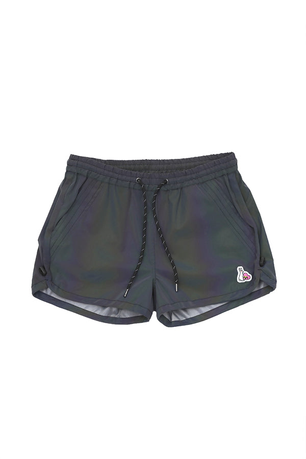 FR2 women no photo reflection Short (free size) Black
