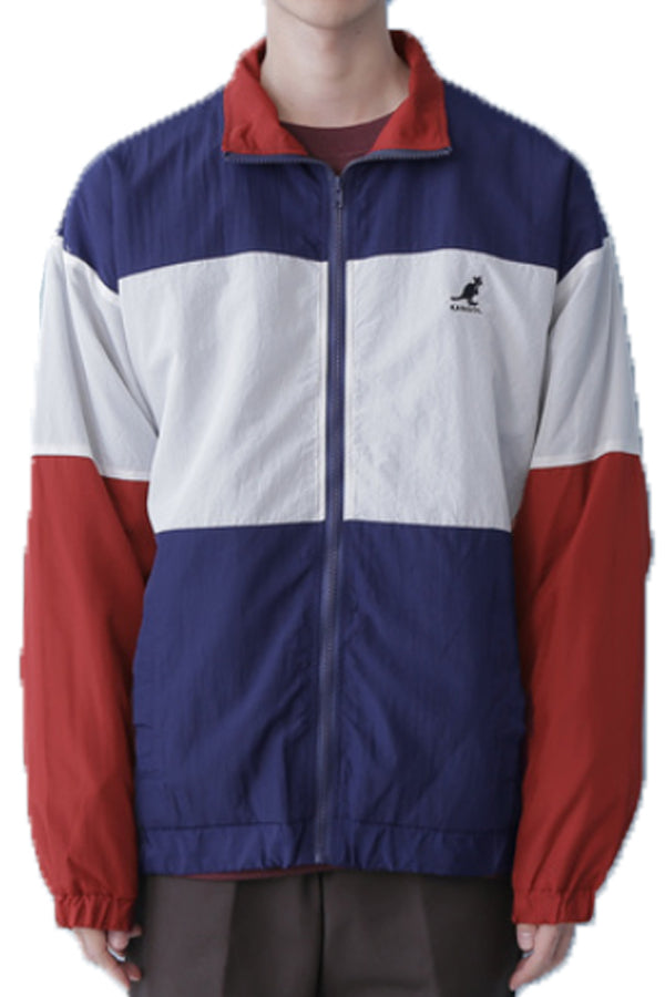 Kangol bespoke switching nylon Jacket Navy/Red (Free Size)