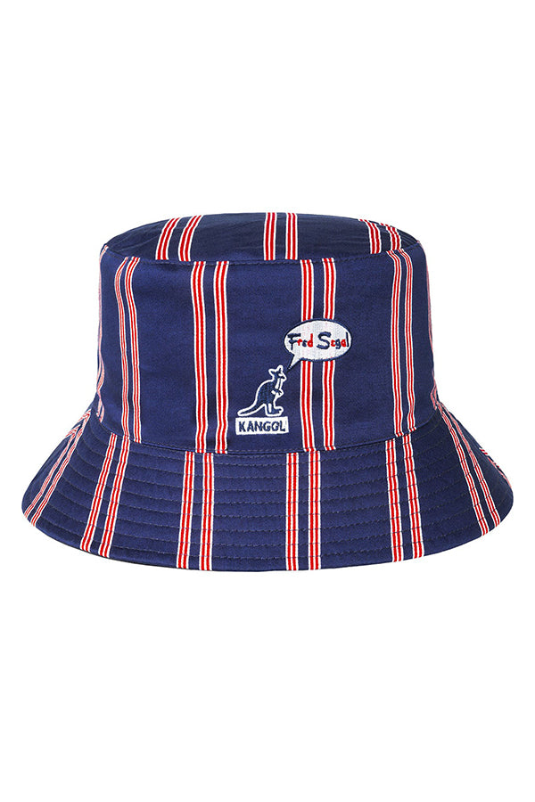 Kangol fred segal tri-color reversible Bucket Hat