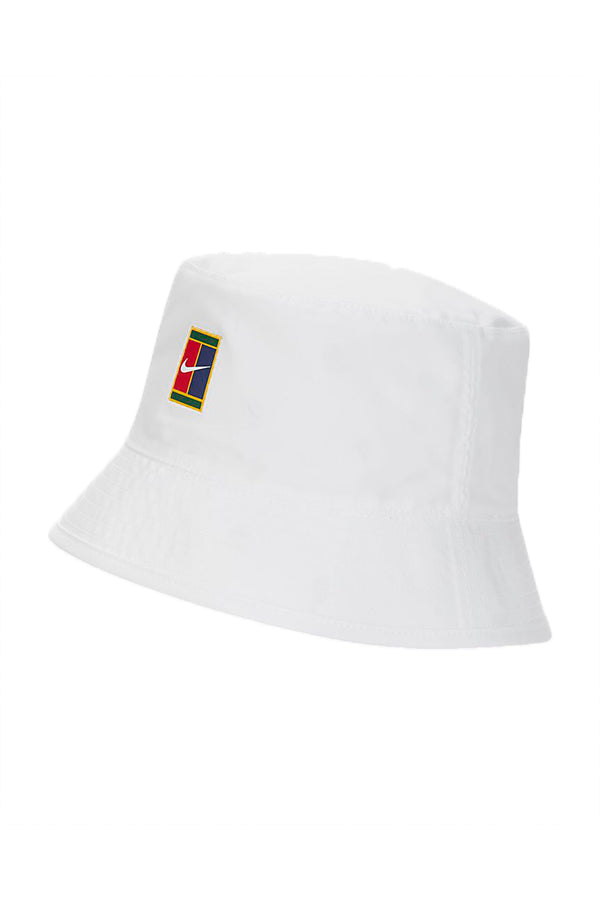 Nike Reversible Tennis Bucket Hat White