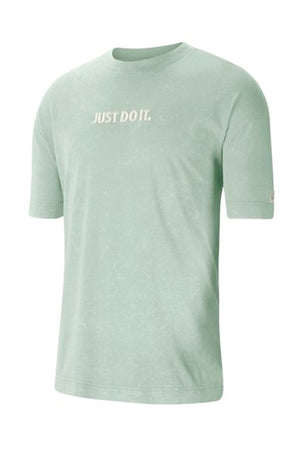 Nike just do it nsw wash T-Shirt Smoked Green