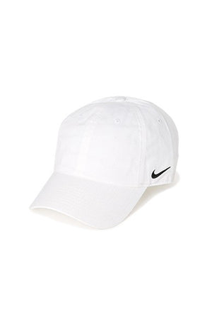 Nike side swoosh Cap White