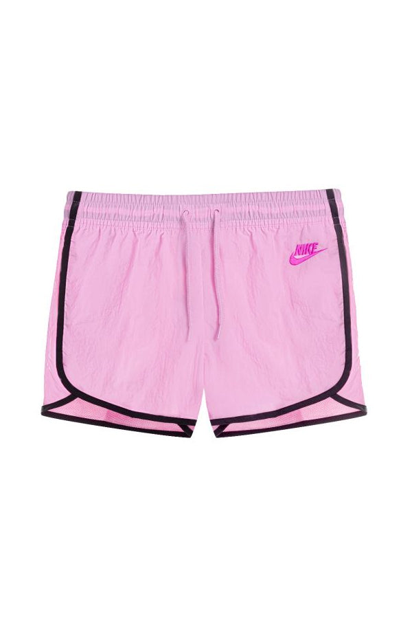 Nike women black detail Shorts Pink
