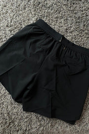 Nike women reflect logo Shorts Black