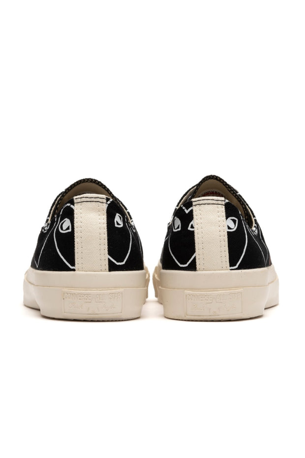 Play Comme Des Garçons Converse All star low Black Pattern