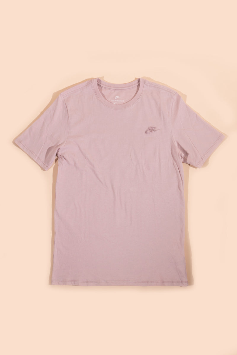 Nike Embroidered T-shirt Pink