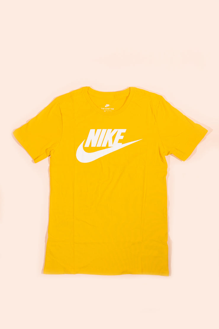 Nike Futura Logo T-shirt Yellow