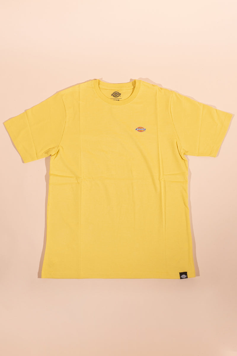 Dickies women small logo T-shirt Yellow