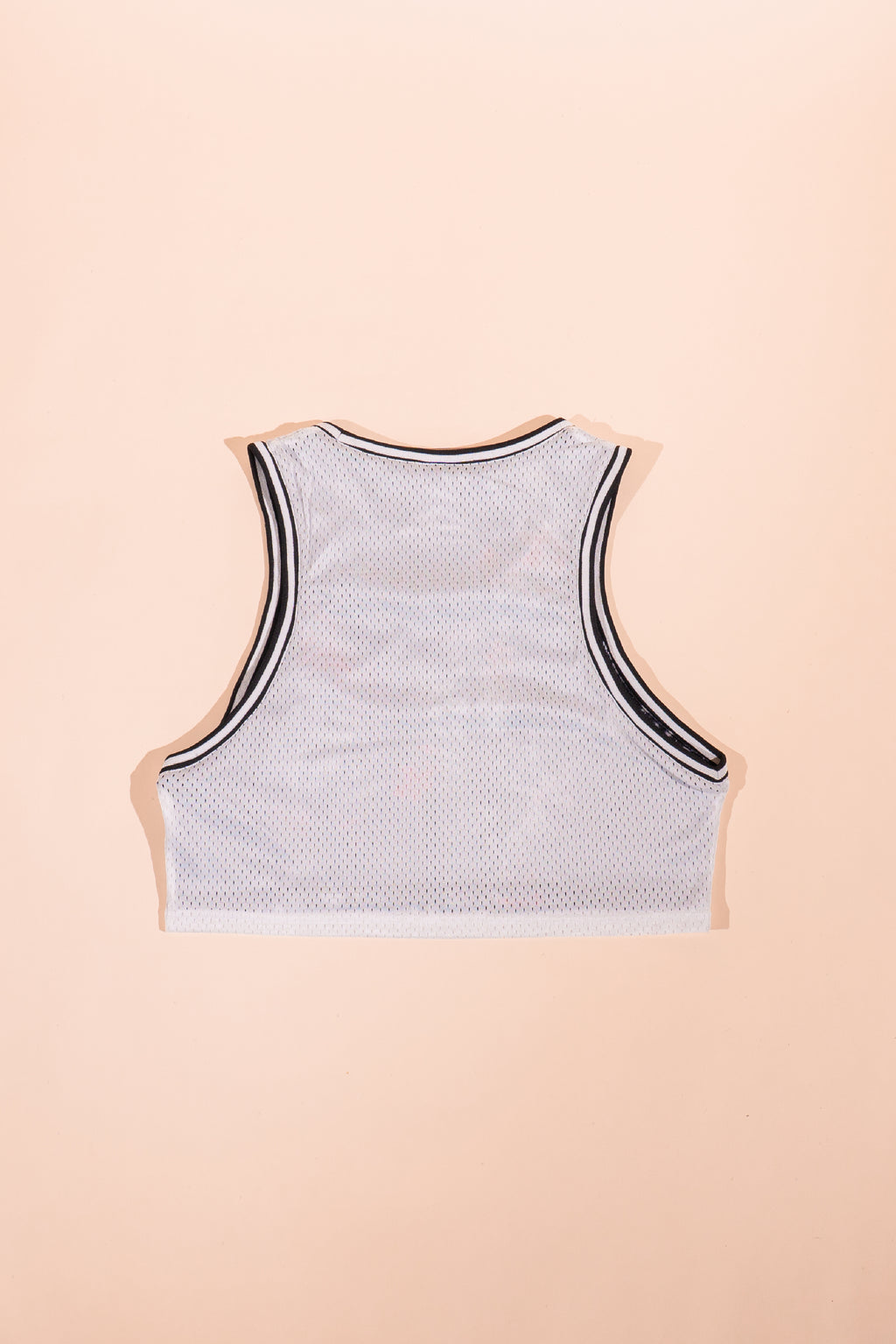 Champion women reverse Crop basketball Tank White