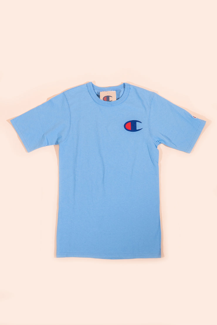 Champion Big C T-Shirt Light Blue