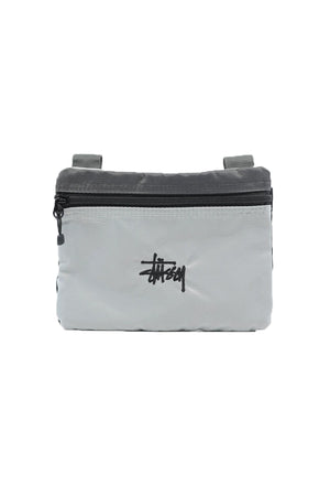 Stussy Graffiti Panel Shoulder Bag Black/Grey