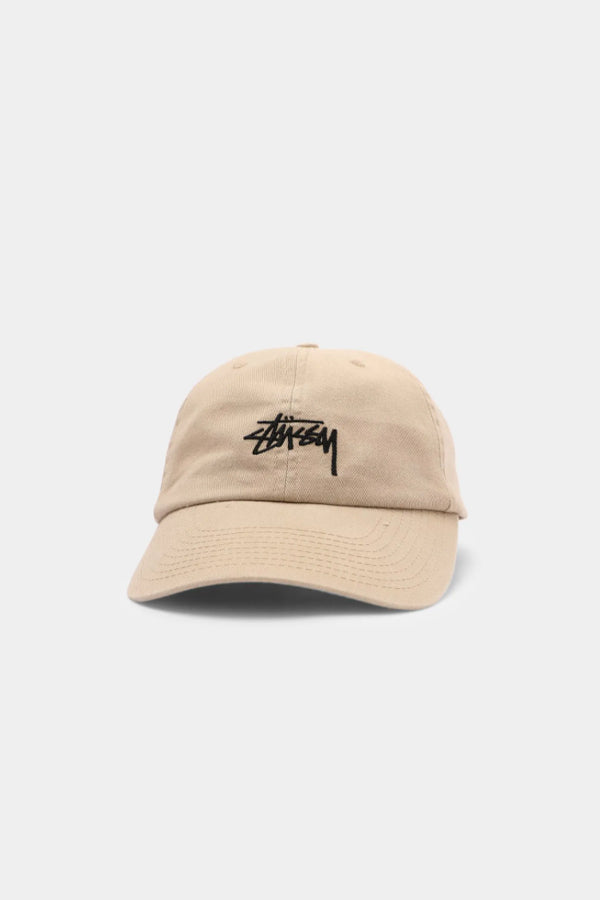 Stussy Stock Low Pro Cap Light Sand
