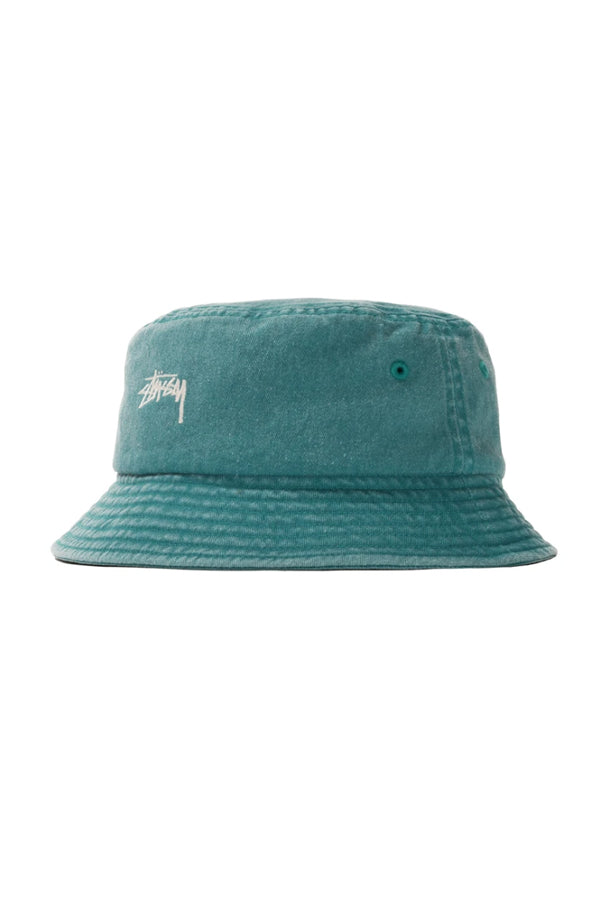 Stussy stock washed Bucket Hat Green