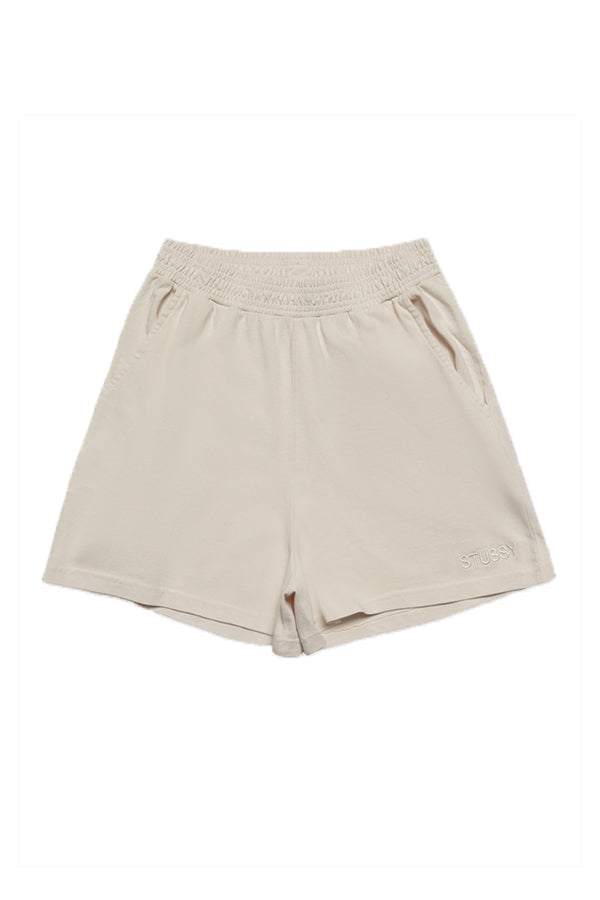 Stussy women Trail Rugby Short Sand