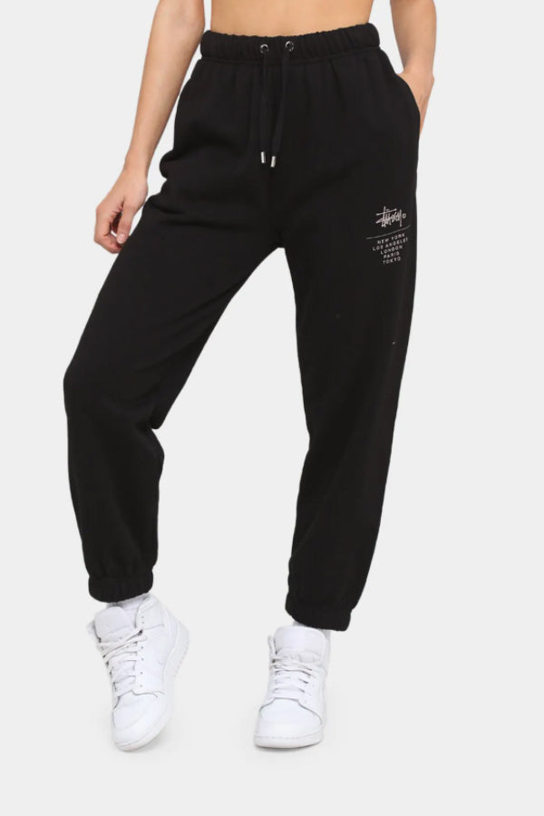 Stussy women world tour Pants Black