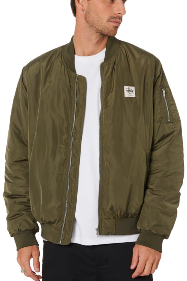 Stussy ww bomber Jacket Army Green