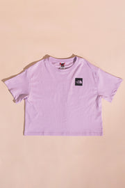 The North Face women Fine Crop T-Shirt Lilac