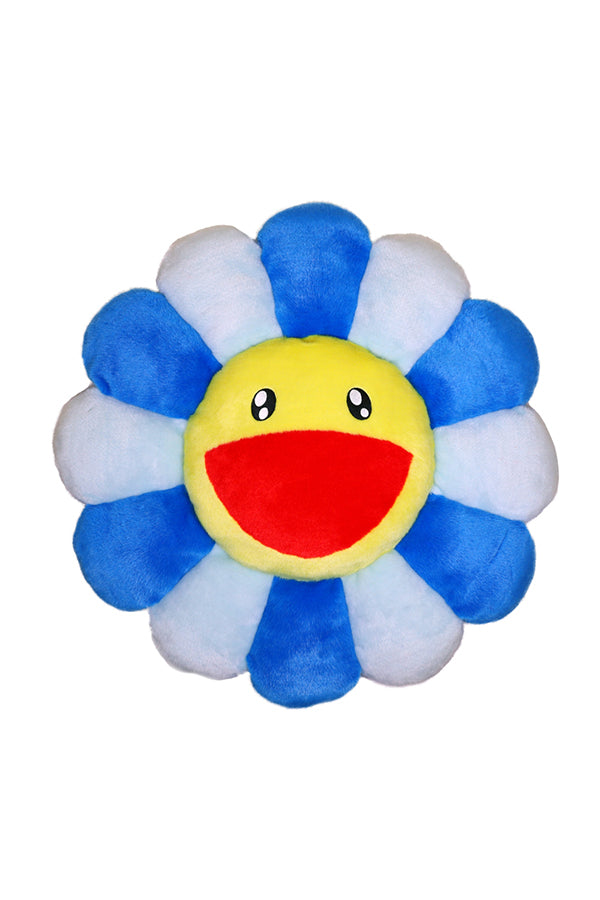 村上隆 Takashi Murakami Flower Cushion 30cm Blue