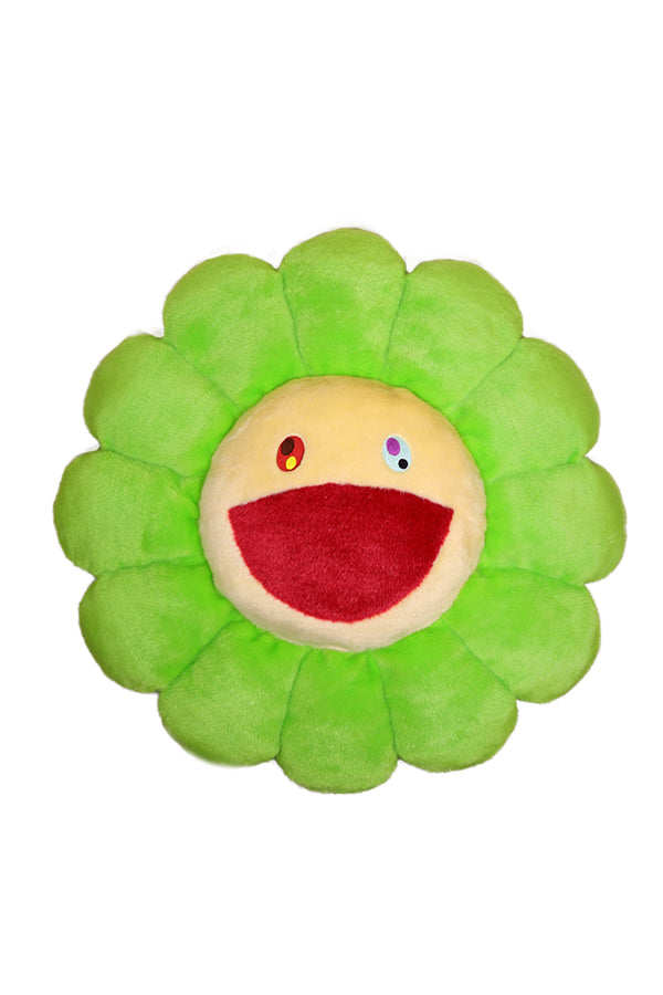 村上隆 Takashi Murakami Flower Cushion 30cm Pure Green