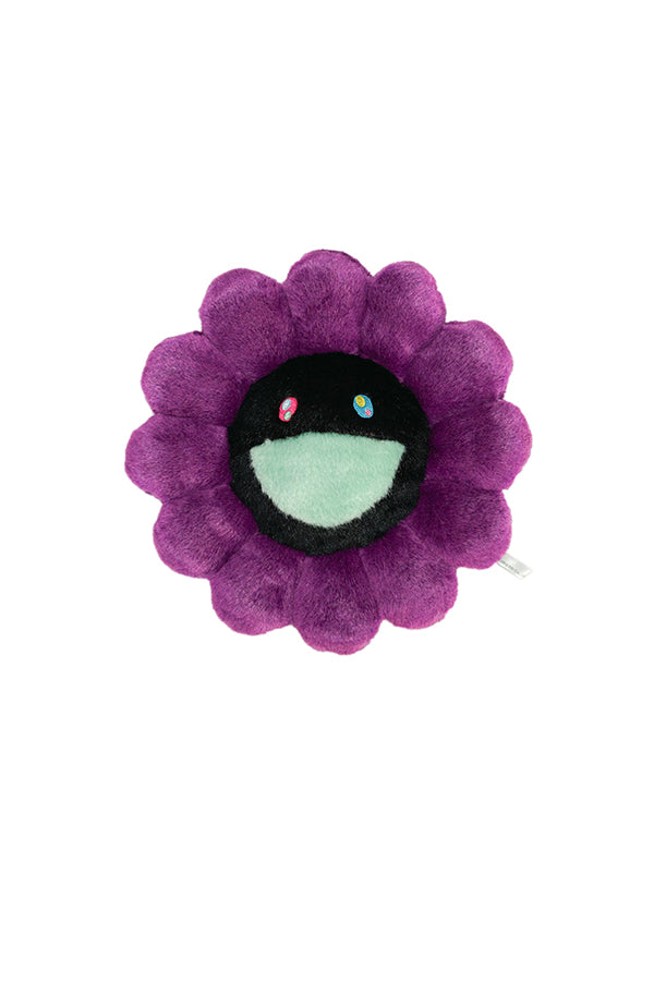 村上隆 Takashi Murakami Flower Cushion 30cm Purple/Black
