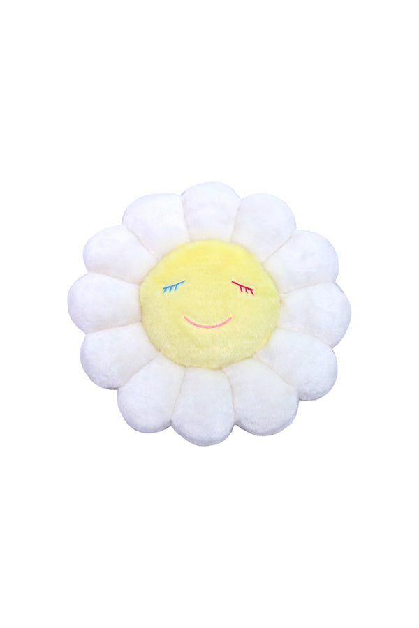 村上隆 Takashi Murakami Flower Cushion 30cm White