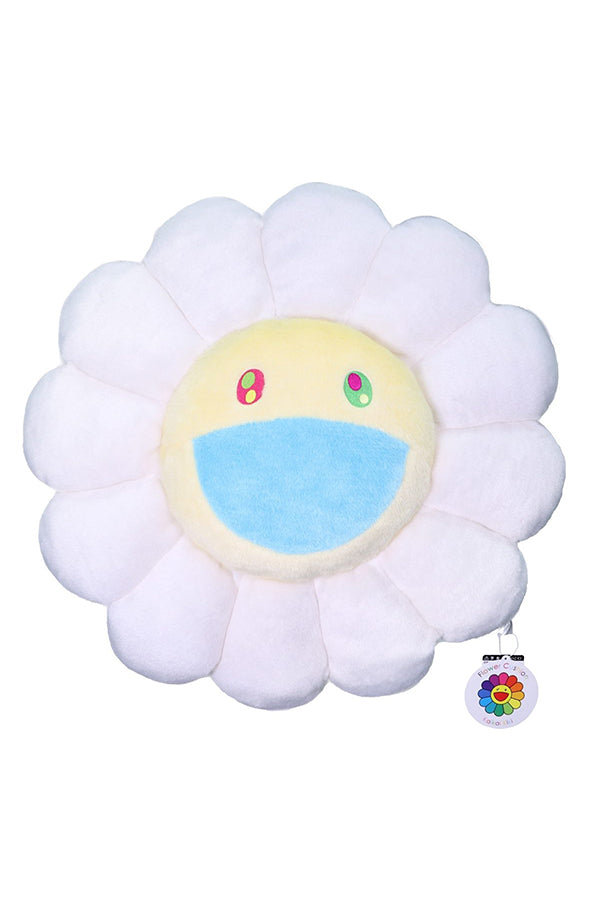 村上隆 Takashi Murakami Flower Cushion 60cm White
