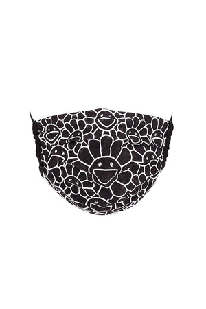 村上隆 Takashi Murakami Flower Pattern Mask Black/White