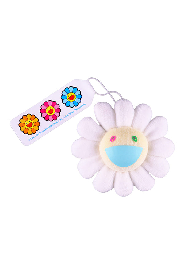 村上隆 Takashi Murakami Flower Plush Pin White