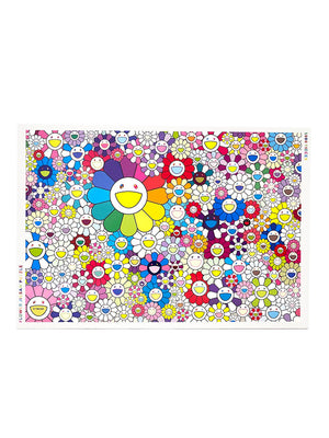 村上隆 Takashi Murakami Flower Puzzle 1000 pieces