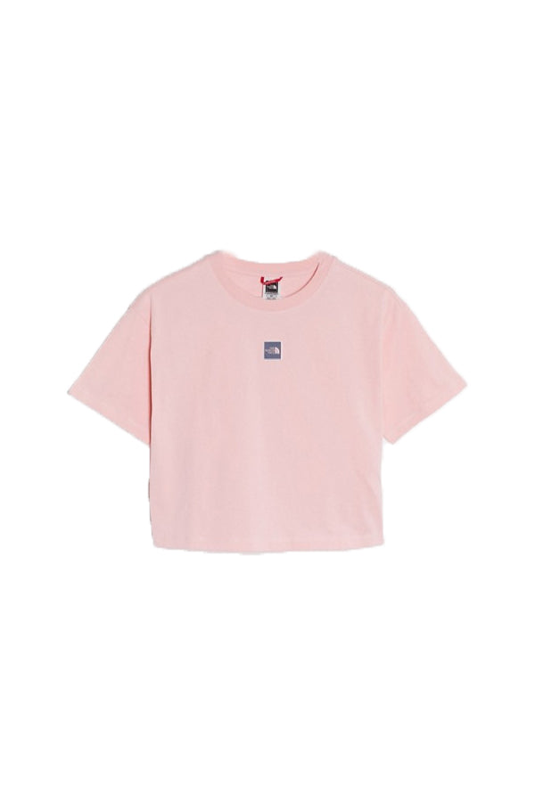 The North Face women central logo crop T-shirt Pink