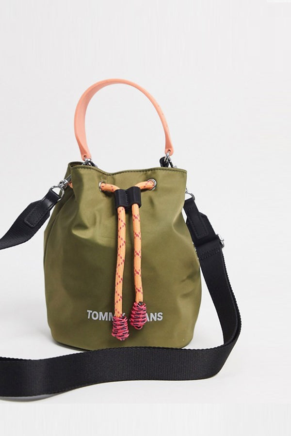 Tommy Jeans Lunch Tote Bag Army Green